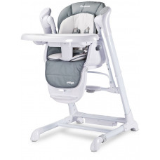 Detská jedálenská stolička 2v1 Caretero Indigo grey Preview