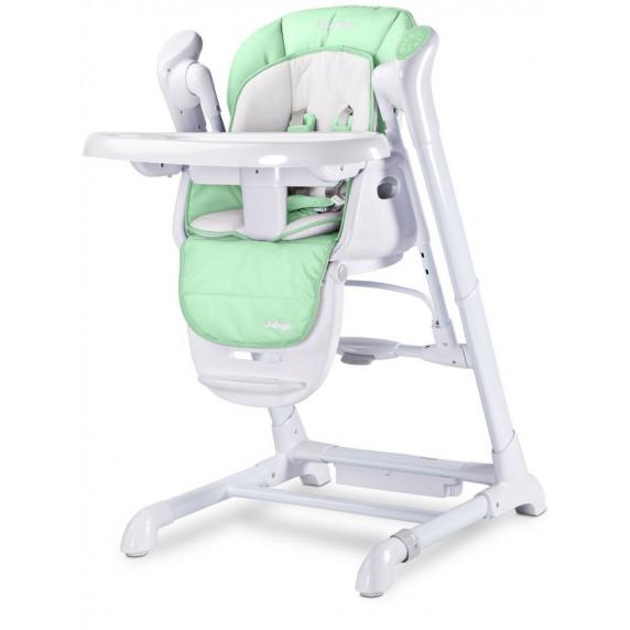Detská jedálenská stolička 2v1 Caretero Indigo mentolová