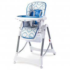 Jedálenská stolička CARETERO One blue Preview
