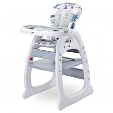 Jedálenská stolička CARETERO HOMEE grey Preview