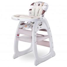 Jedálenská stolička CARETERO HOMEE beige Preview