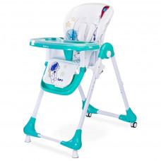 Jedálenská stolička CARETERO Luna mint Preview