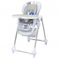 Jedálenská stolička Baby Mix Infant grey Preview