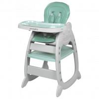 Jedálenská stolička Baby Mix Presito 2v1 zelená