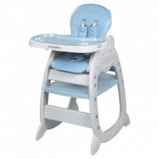 Jedálenská stolička Baby Mix Presito 2v1 modrá Preview