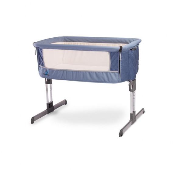 CARETERO Sleep2gether detská postieľka - modrá