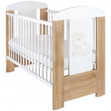 Detská postieľka New Baby Medvedík s hviezdičkou štandard dub Preview
