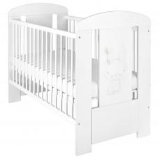 Detská postieľka New Baby Králiček štandard biela Preview