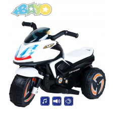 BAYO elektrická motorka KICK biela Preview