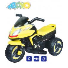 BAYO elektrická motorka KICK žltá Preview