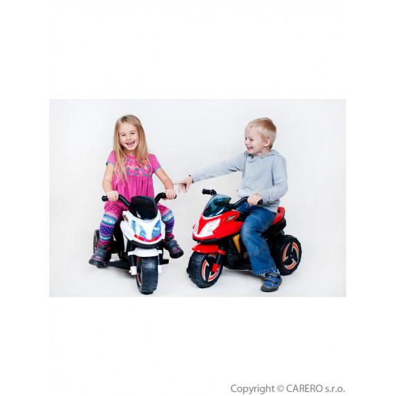 BAYO elektrická motorka KICK červená