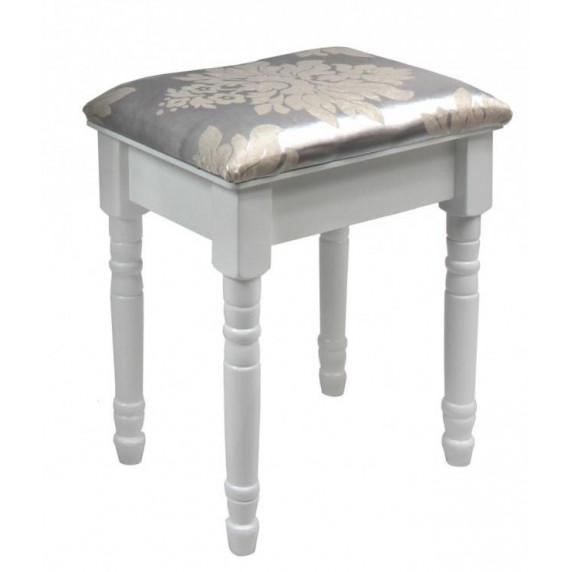 Inlea4Fun Toaletný stolík s taburetkou PHO0069