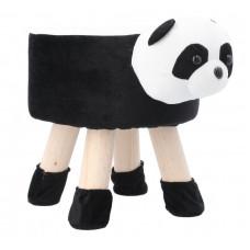 Inlea4Fun Detský taburet - Panda Preview