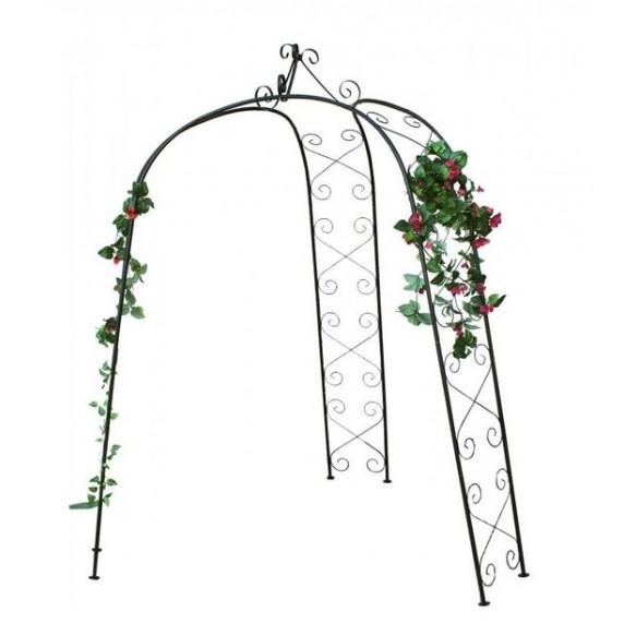 GARDEN LINE Záhradná pergola na ruže 180 x 39 x 240 cm