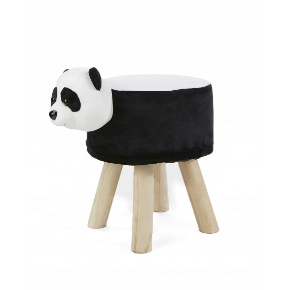 Inlea4Fun Detský taburet - Panda