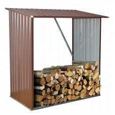 InGarden Šopa na palivové drevo 164 x 83 x 154 cm - hnedá Preview
