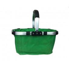 Nákupný košík skladací - zelený Preview