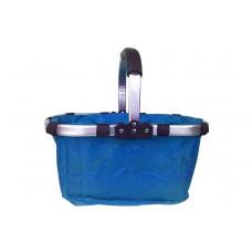Nákupný košík skladací - modrý Preview