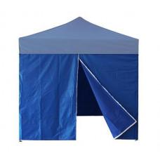 InGarden Bočnica s dverami k predajnému stánku 3 x 3 m - modrá Preview