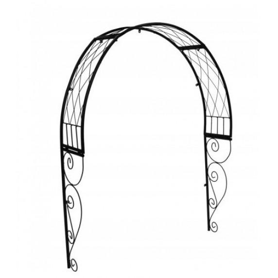 GARDEN LINE Dekoratívna strieška nad dvere 110 x 21 x 106 cm