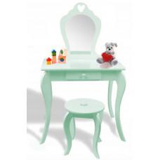 Detský toaletný stolík Inlea4Fun - mätový Preview