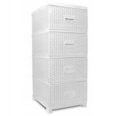 InGarden plastová komoda 38x45x90 cm - Biela Preview