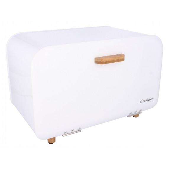 Cook Line COMINO Kovový chlebník - biely