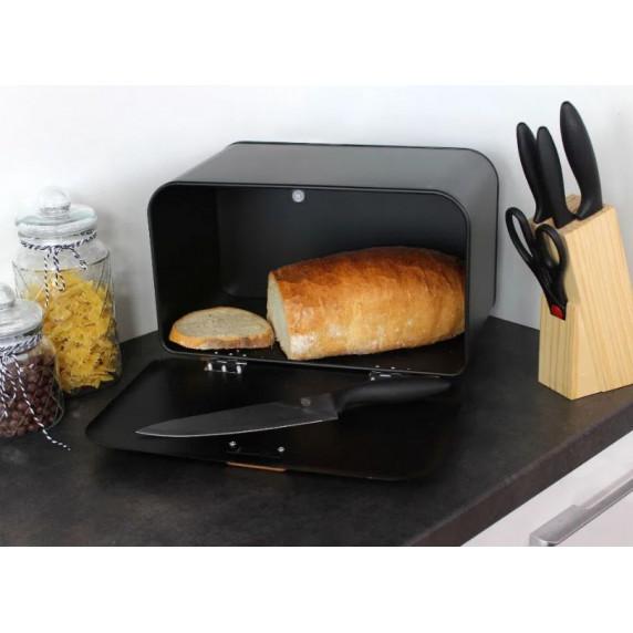 Cook Line COMINO Kovový chlebník - čierny