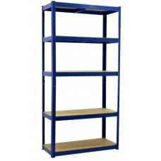 InGarden Policový regál 180 x 90 x 40 cm - modrý Preview