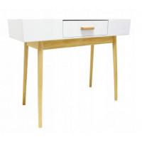 Stôl v škandinávskom štýle so zásuvkou 100 x 40 x 79 cm InGarden SCANDINAVIA