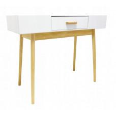 Stôl v škandinávskom štýle so zásuvkou 100 x 40 x 79 cm InGarden SCANDINAVIA Preview