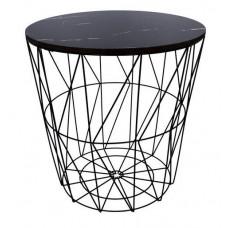 Konferenčný stolík 39,5/41 cm Inlea4Home 9114 - čierny Preview