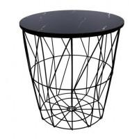Konferenčný stolík 29/30,5 cm Inlea4Home 9138 - čierny