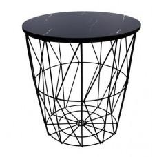 Konferenčný stolík 34/36 cm Inlea4Home 9121 - čierny Preview