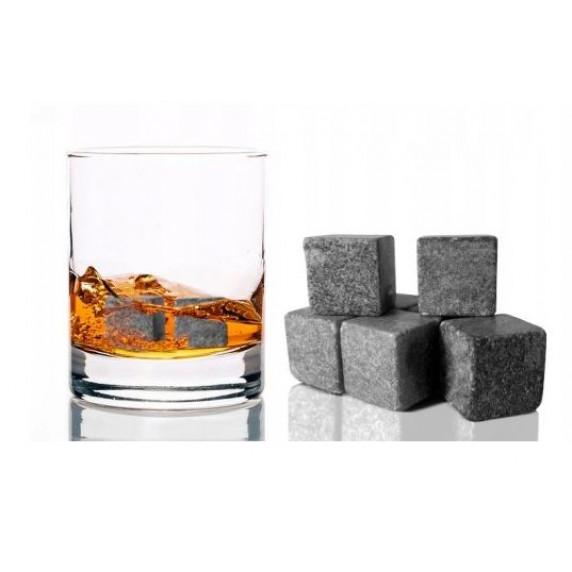 Ľadové kocky z kameňa na whisky, koktail, limonádu Inlea4Home