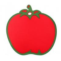 Doska na krájanie s protišmykovými prvkami v tvare paradajky Inlea4Home