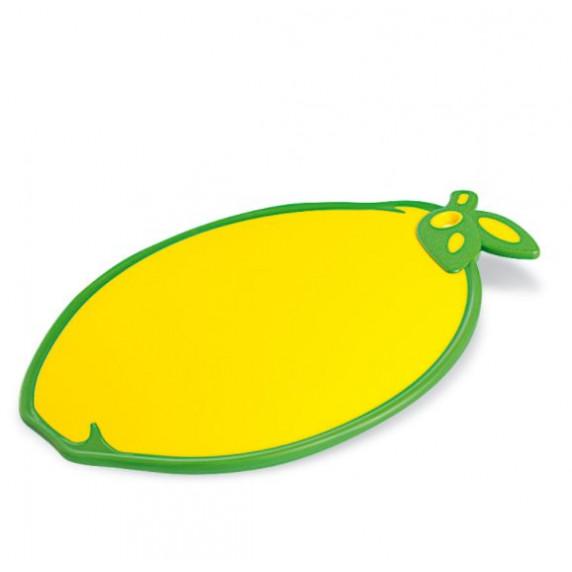 Doska na krájanie s protišmykovými prvkami v tvare citrónu Inlea4Home