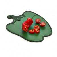 Doska na krájanie s protišmykovými prvkami v tvare papriky Inlea4Home