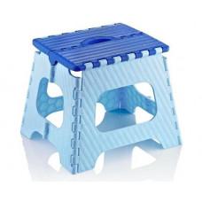 Skladacia stolička 35,5 cm Inlea4Home - modrá Preview