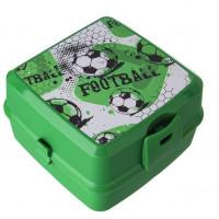 Potravinový box na občerstvenie s príborom Inlea4Home -Fotball
