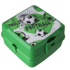 Potravinový box na občerstvenie s príborom Inlea4Home -Fotball Preview