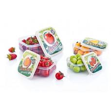 Tároló doboz szett mintás 4 részes Inlea4Home -gyümölcs Preview