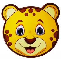 Dóza na potraviny sada  zvieratká 4 ks Inlea4Home - leopard