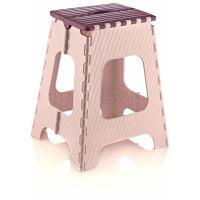 Skladacia stolička vysoká 45,5 cm Inlea4Home - fialová