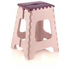 Skladacia stolička vysoká 45,5 cm Inlea4Home - fialová Preview