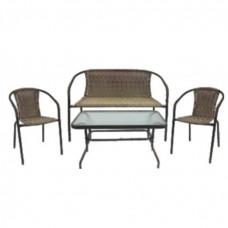 InGarden záhradná zostava BISTRO BIG stôl + lavica + 2 stoličky Preview