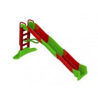 Vodná šmykľavka s držadlom 400 cm Inlea4Fun - červená/zelená