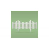 GARDEN LINE Záhradný plastový plot 60,5 x 32,5 cm - sada 4 ks