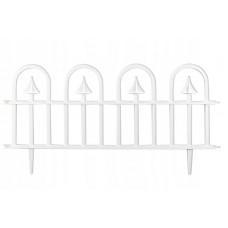 Záhradný plastový plot GARDEN LINE biely 60 x 30,5 cm - sada 4 ks Preview