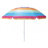 InGarden plážový slnečník farebný 180 cm